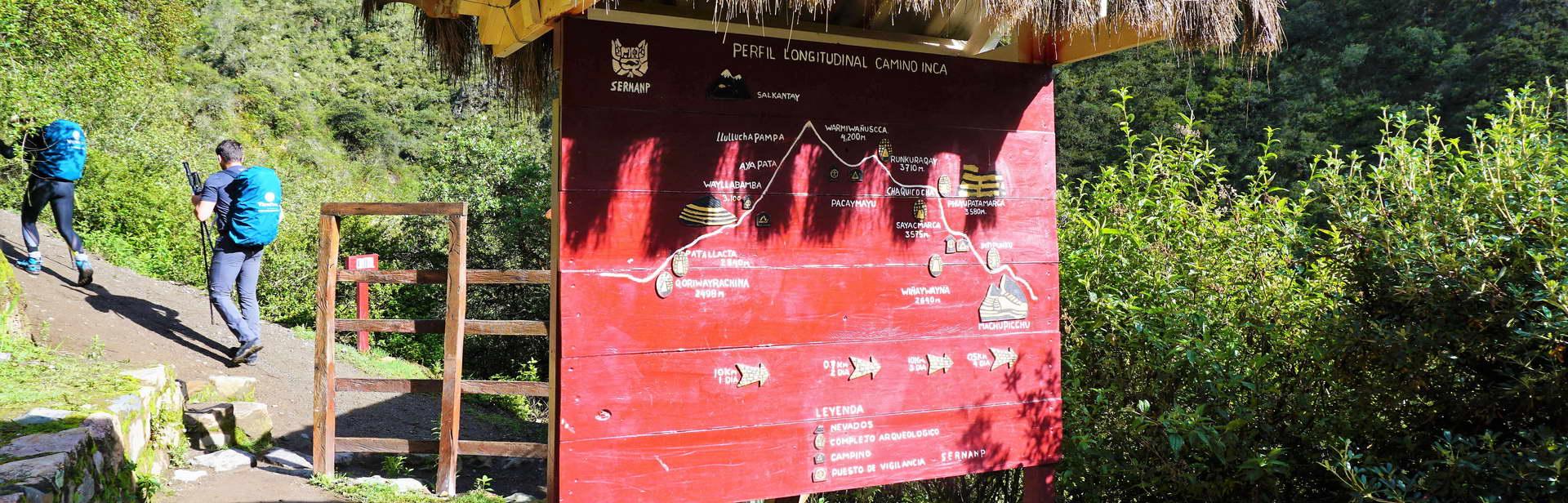 Inca Trail  Maps