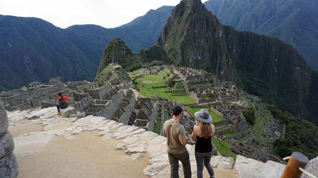 Inca Trail One day to Machu Picchu - Visiting the citadel