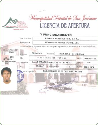 Kenko Aventure official license