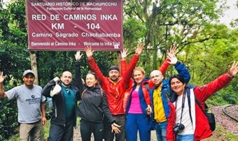 KM 104 - Start on Inca Trail 2 Day - to Machu Picchu with Kenko Adventures