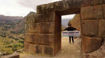 pisaq gate Machu Picchu 2 Day Hike + Sacred Valley + Sun Gate