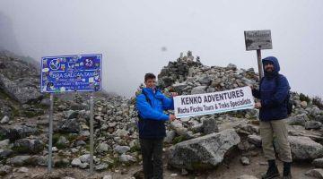 salkantay pas 4600 meter