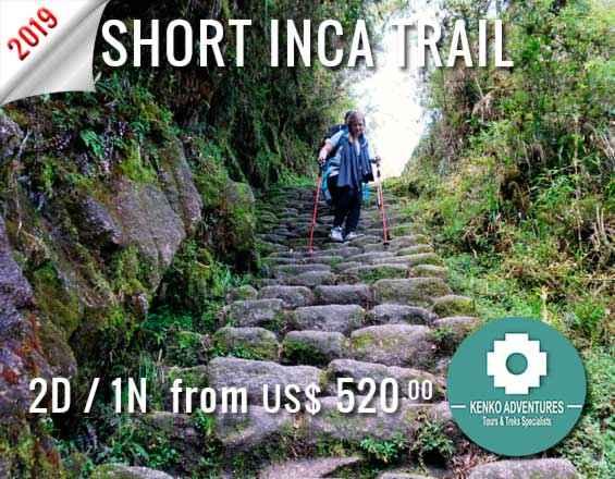 hiking the inca trail 2 days